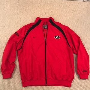 Nike UGA Clima-Fit Team Issued travel jacket